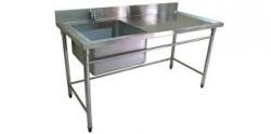 Stainless steel washbasin 06